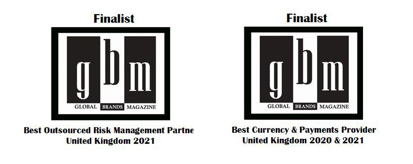 Central FX nominated for Best Currency & Payments Provider 2020 & 2021 Best Outsources Risk Management Provider 2021